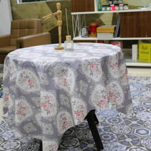 Flower Table Cloth Waterproof Long Peva Cover Oil Resistant For Tabletop Decor China