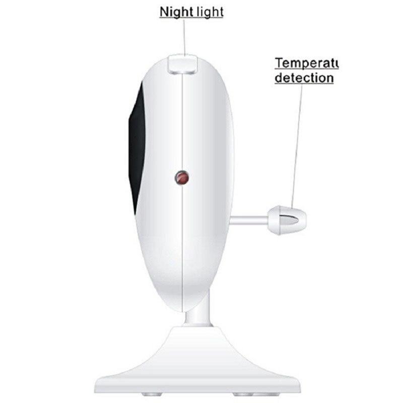 IMPORX nouveau moniteur bébé 2.4 pouces LCD sans fil bébé caméra 2X bébé téléphone Vision nocturne caméra de sécurité parler bidirectionnel Bebek Telsizi - 3