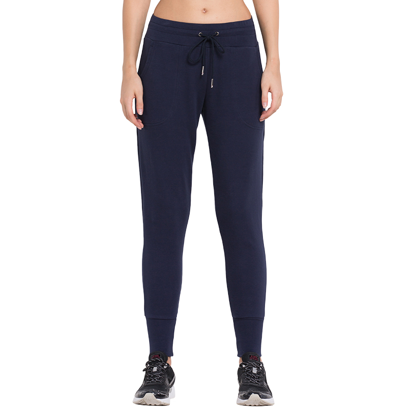 2016 Womens Running Pants Elastic Waist XXL Pants Loose Thin Female Pants for Training Jogger Trousers