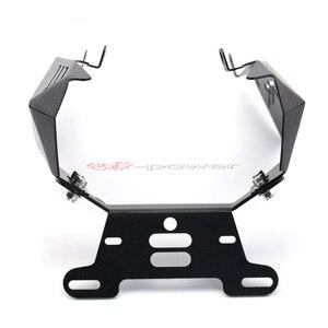 Image 3 - לוחית רישוי מחזיק עבור הונדה CBR600RR CBR 600 RR 2007 2011 08 09 10 אופנוע פנדר Eliminator רישום צלחת סוגר