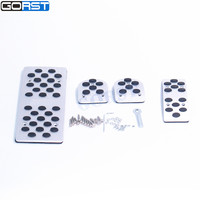 Gas brake rest accelerator non-slip MT pedal logo is STI pedal pads for Forester Outback Legacy XV Tribeca Accessories