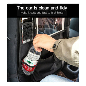 Image 5 - Auto Car Back Seat Hanging Bag Travel Storage Holder Organizer For Tablet Ipad Interior Stowing Tidying Bags Waterproof