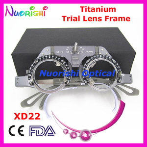 Image 2 - XD02 Titanium Optical Optometry Ophthalmic Trial Lens Frame Light Weight Lowest Shipping Costs