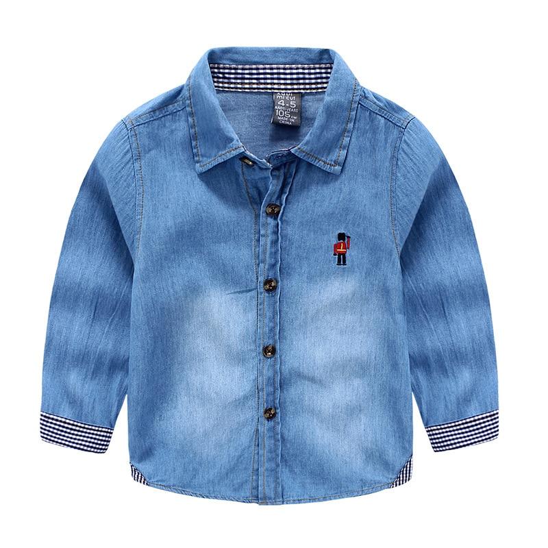 2017 m. Pavasario rudens vaikiški drabužiai berniukai džinsiniai - Vaikų apranga