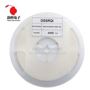 Image 1 - 4000 шт., многослойный керамический конденсатор 0603 SMD, 0,5 22 мкФ 10pF 22pF 100pF 1nF 10nF 15nF 100nF 0,1 мкФ 1 мкФ 2,2 мкФ 4,7 мкФ 10 мкФ