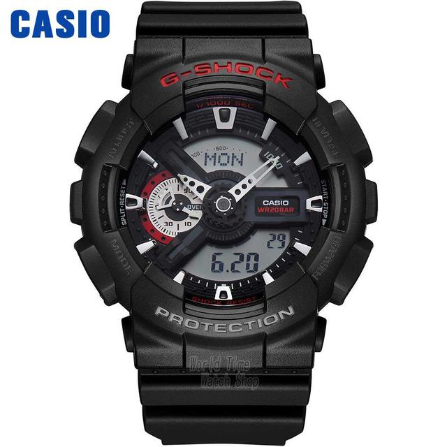 montre casio choc