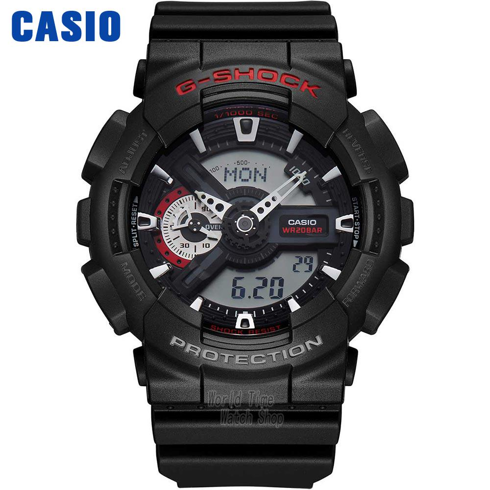 Casio watch Outdoor sports watch hard touch anti-shock waterproof male watch GA-110-1A