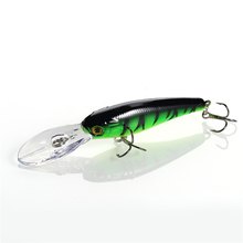 1pcs Sea Trolling Minnow 9cm 7.3g Artificial Bait Big Wobblers Fly Fishing Lures Carp Peche Crankbait Pesca Jerkbait 21#