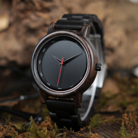 BOBO BIRD Male High Quality wrist Watch Bamboo Wooden Watches Men in gift box custom logo erkek kol saati
