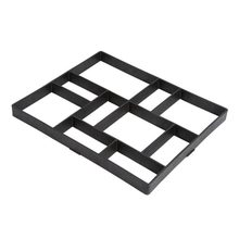 Diy Plastic Path Maker Mold Manually Paving Cement Brick Molds Stone Road Concrete Molds Tool For Garden Pavement
