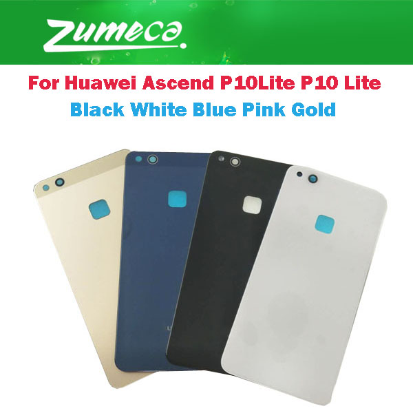 AAA+ Quality For <font><b>Huawei</b></font> Ascend <font><b>P10Lite</b></font> WAS-LX2J /LX2/LX1A <font><b>Huawei</b></font> P10 Lite <font><b>Battery</b></font> Cover Housing Case Door Rear Glass 5 Color image