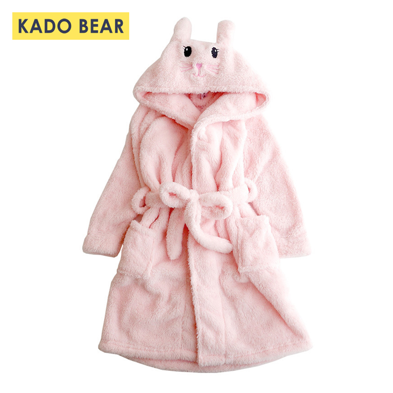 Kids Cartoon Bunny Pajamas Baby Girls Flannel Sleepwear Coral Fleece Winter Bathrobe Children Hooded Towel Robes Pyjamas ClothesKids Cartoon Bunny Pajamas Baby Girls Flannel Sleepwear Coral Fleece Winter Bathrobe Children Hooded Towel Robes Pyjamas Clothes