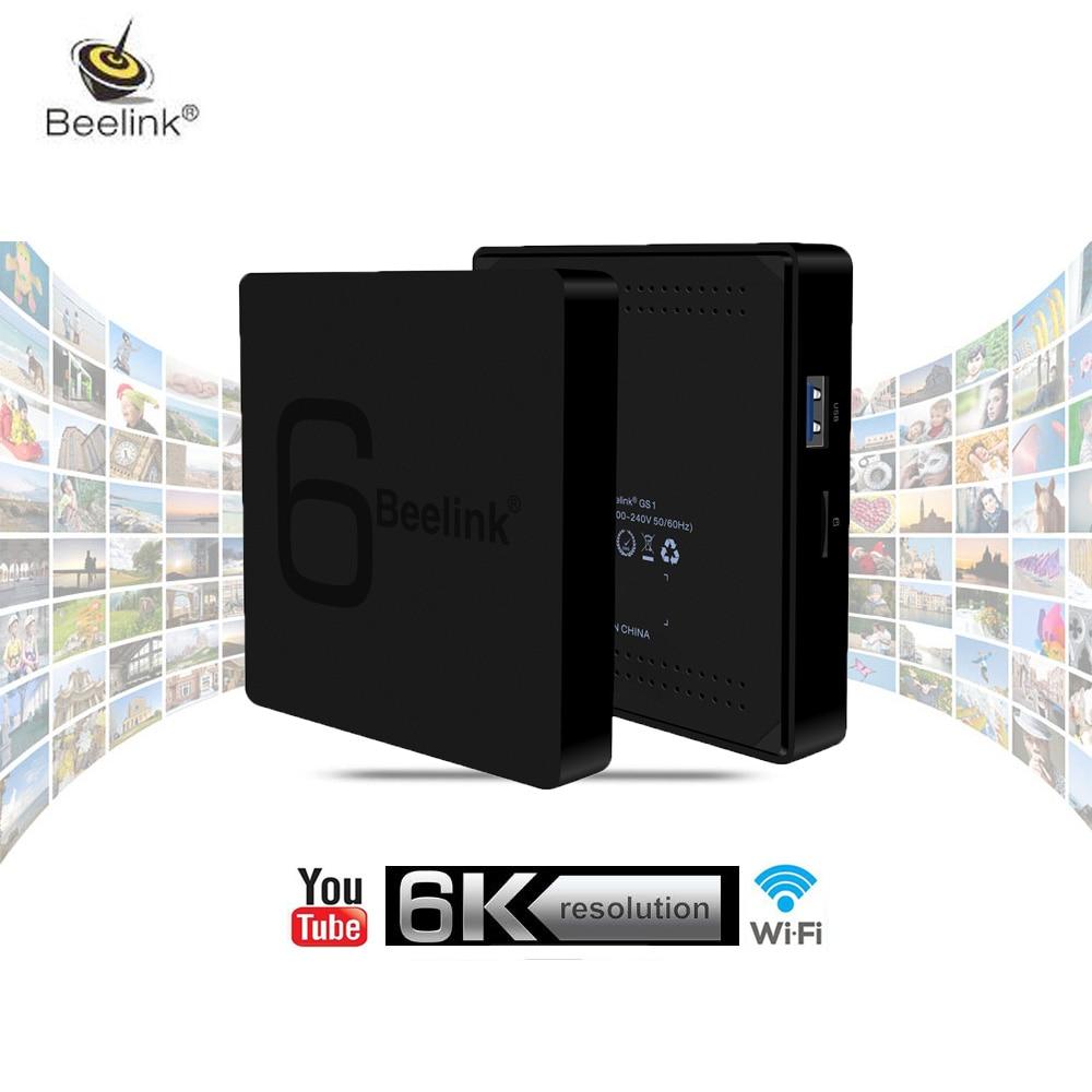 Beelink GS1 6K TV Box Allwinner H6 Android 7.1 TV Box Bluetooth 4.0 1000M LAN USB 3.0 Media Player PK Beelink GT1 Ultimate 3 ревербератор xox pk 3 usb pk 3 usb page 5