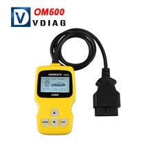 2016 Top selling Original OBDMATE OM500 JOBD OBDII EOBD Code Reader in stock free shipping