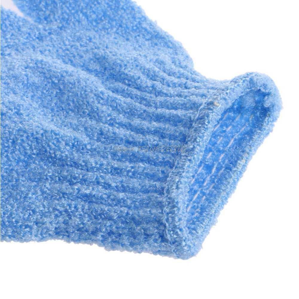 1Pc Shower Bath Glove Exfoliating Wash Skin Spa Massage Scrub Scrubber Bath set #E207Y# Hot Sale