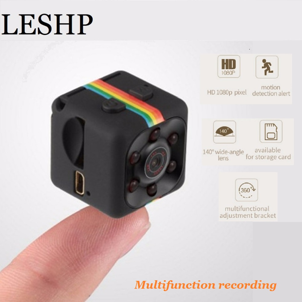 Mini SQ11 1080P HD Camcorder Night Vision Voice Video Recorder Sports DV Camera Support TF Card Motion detector Baby Monitor цена