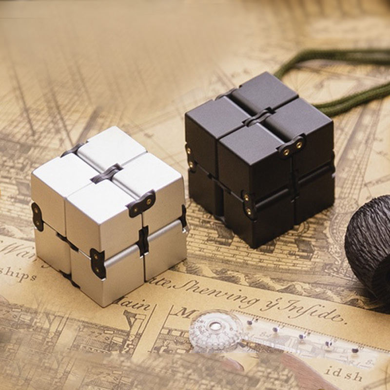 Infinity Cube New style spinner Fidget High Quality Anti stress mano metal Kids Finger Toys Luxury Hot Adult EDC for ADHD Gifts infinity cube new style spinner fidget high quality anti stress mano metal kids finger toys luxury hot adult edc for adhd gifts