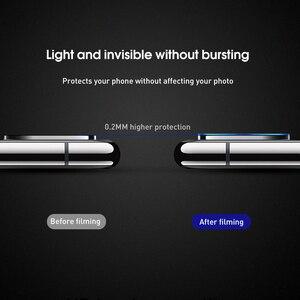 Image 5 - 9H téléphone portable caméra Len écran protecteur verre pour iPhone X 7 6 5 6S 8 Plus caméra Film verre trempé pour iPhone XR XS XSmax