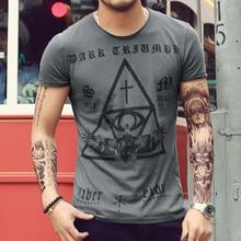 Herren t-shirts Casual Tops Tees männer Slim kurzarm t-shirt Baumwolle Vintage Religiöse print t-shirt camisa 2016 Hohe qualität