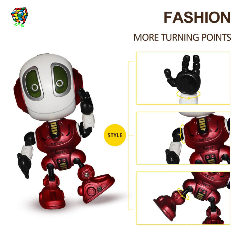 Figure Toys  Alloy Robot Models Robot Action Toy Action Figure Kids Education Toys Gifts For Children