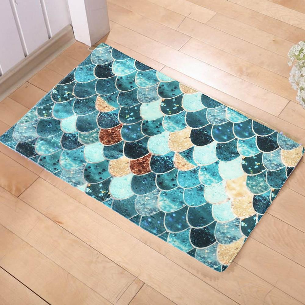New Anti Slip Carpets Fashion Ideas Color Geometry Print