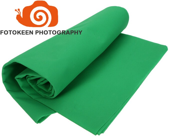 3 6M 10x20ft Photography Studio Non woven cloth fabric Backdrop Background Chromakey Screen 3Colors Black White