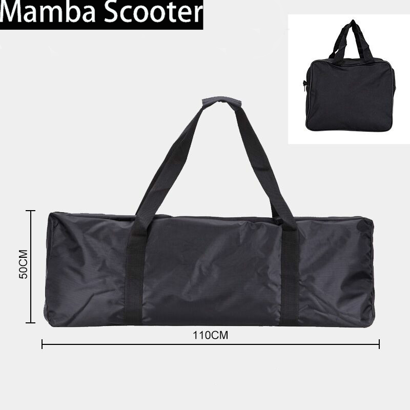 все цены на High Quality Oxford Electric Scooter Bag Skateboard Carrying Storage Bag for Xiaomi Scooter Mijia M365 Skate Bike 110*45*50cm
