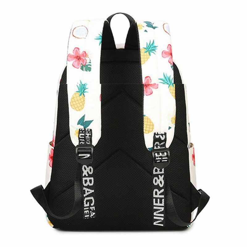 Yeni 2019 Moda baskılı çanta Yüksek Kaliteli Çocuk Okul Çantaları Kadın Sırt Çantaları Gençler Öğrenciler seyahat sırt çantası Sırt Çantaları