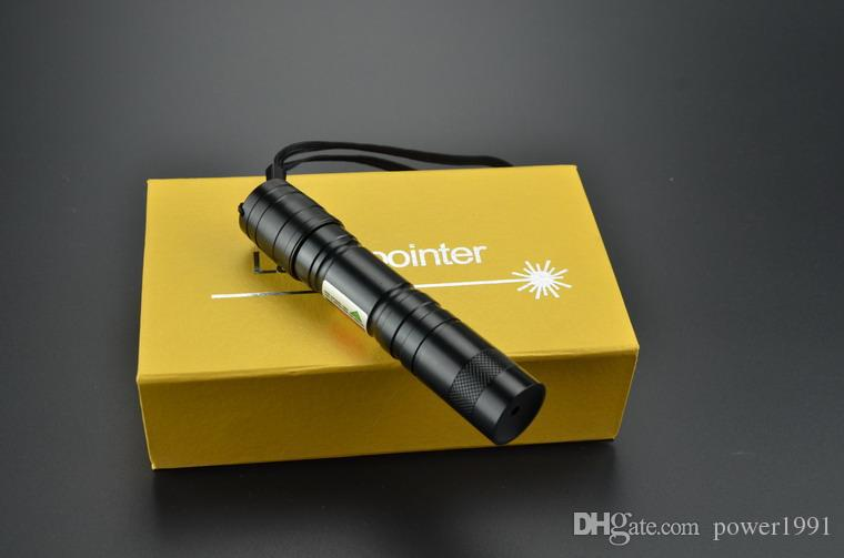 AAA real power 5000mw 5w 650nm Mini red laser pointer focusable burn match lit cigarettes shipping
