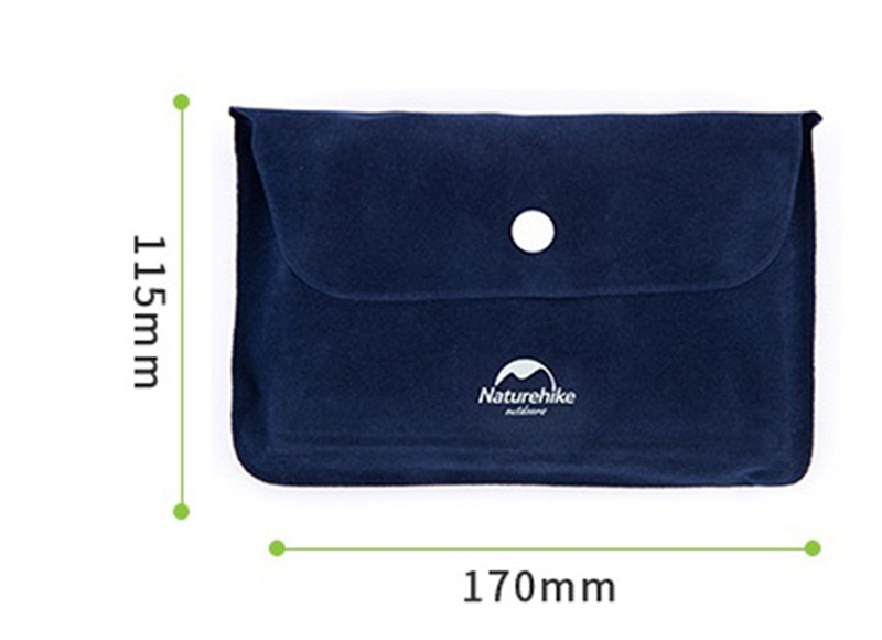 Image 4 - Naturehike Outdoor Inflatable Camping Mat Sleeping Pillow Folding Non slip Suede Fabric Mat for Camping & Hiking-in Camping Mat from Sports & Entertainment