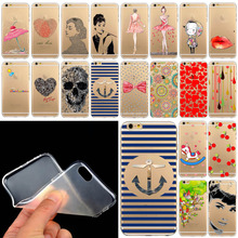 For 5 5s TPU case cover good quality lovely cartoons for apple iphne 5 5S SE Soft Rubber Silicone TPU WHD1285 41-60