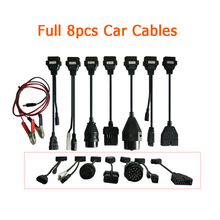 Een + Qaulity Obd OBD2 Adapter Converter Kabel Diagnostic Tool Tcs Auto Kabels Voor Delphis Pro Plus Volledige Set 8 stuks
