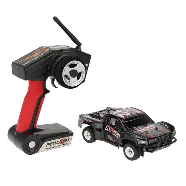 Mais novo A232 1/24 2.4g Escovado 4WD Curso De Curta Duração Elétrica RTR RC Carro Off road De Buggy RC Carro de Drift brinquedos para as crianças vs A979 L202 - 3