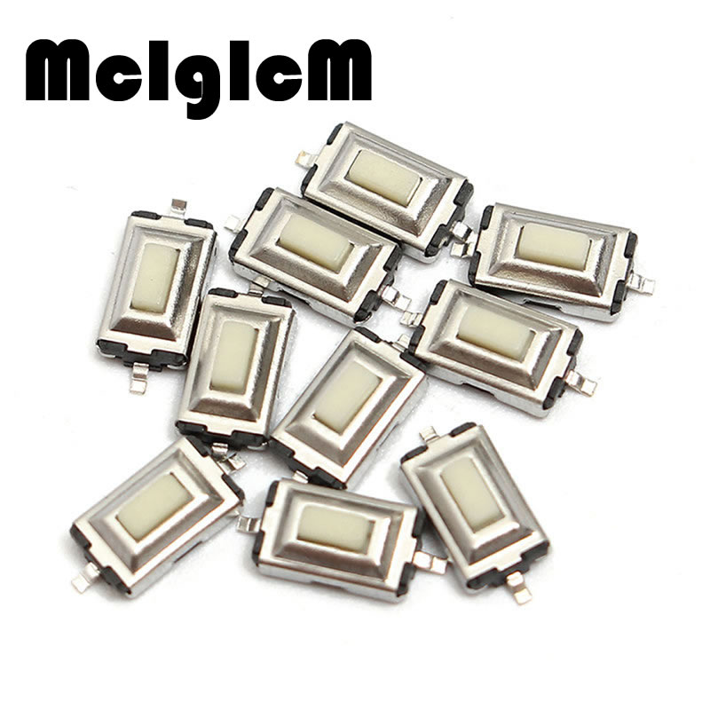 50pcs/lot Tact Tactile Push Button Micro Switch SMD Momentary SMT 2 pin 3*6*2.5MM 3x6x2.5MM Free shipping 50pcs 6x6x4 3mm tactile push button switch 4 pins micro switch 4 pin dip momentary touch switch