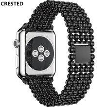 Ремешок для apple watch 42 мм 38 мм 44 мм 40 мм iwatch ремешок для apple watch 4 3 2 1 браслет из нержавеющей стали ремешок для часов
