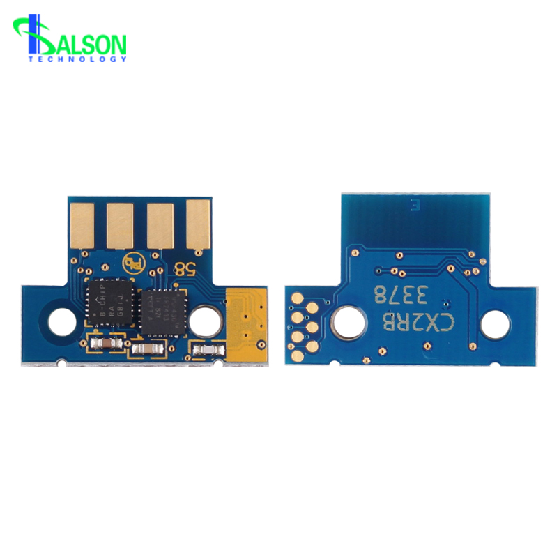 Hot sale 4K/3K toner chip for <font><b>lexmark</b></font> <font><b>cs310</b></font> cs410 cs510 cartridge reset chips made in china South America version image