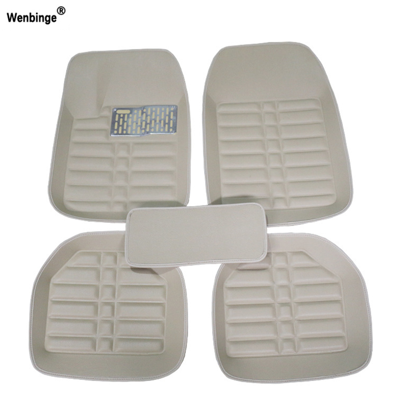 Wenbinge Universal car floor mat For <font><b>volvo</b></font> xc90 s60 v40 s40 xc60 c30 s80 v50 <font><b>xc70</b></font> waterproof car accessories styling car carpets image
