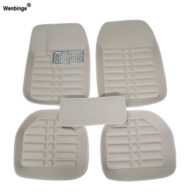 Wenbinge tapis de sol de voiture universel pour volvo xc90 s60 v40 s40 xc60 c30 s80 v50 xc70 accessoires de voiture étanche style tapis de voiture