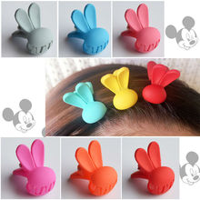 Cute Rabbit Ear Hair Claws Head Dress Hair Accessories for Women and Girls Free Shipping free shipping yihua 853a lead free preheat station bga rework station for bga smt motherboard rework repair