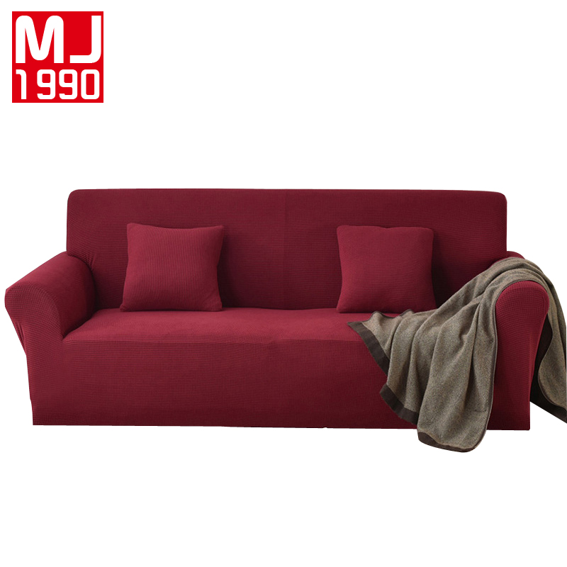 New Products Simple and Modern Fleece Sofa Cover All inclusive Universal Suit Elastic Sofa Cover Non