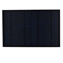 Solar Panel 18V 10W 0 55A Mini PET monocrystalline polycrystalline PV module