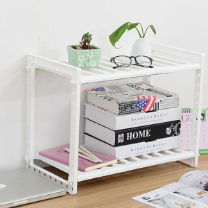 Image 5 - Adjustable Kitchen Storage Shelf Cupboard Organizer Spice Rack Bathroom Accessories Space Saving Shoe Rack Holders Book Shelves