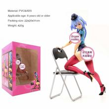 23 cm sexy girl figure MILE STONE Queed ted PVC Garage Kit action collection model toy
