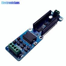 Nano-L298P 4A двухканальный Полный H-мост мотор драйвер щит для Arduino UNO R3 на возраст от 5 до 12 лет, в PWM Скорость DC шаговый привод модуль