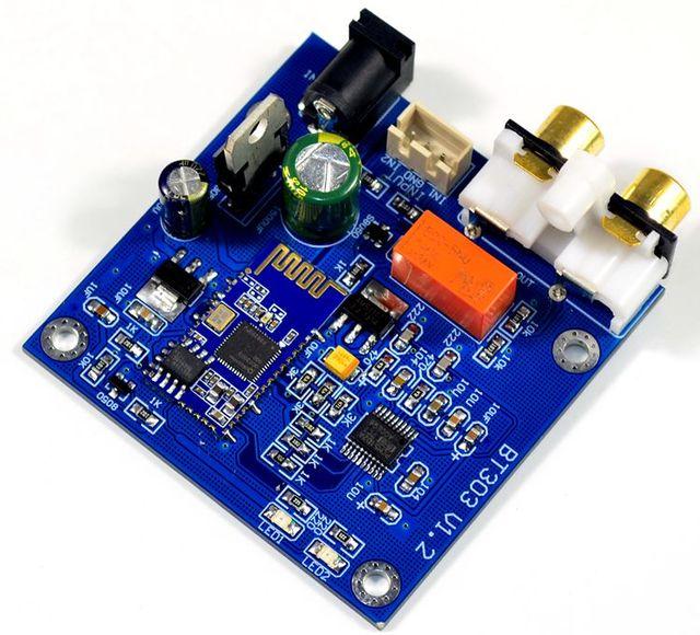 YJ QCC3003 Bluetooth 5.0 מודול כוח מגבר לוח