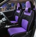 Фронтальный + Тыловой Специальный автомобиль чехлы Для сидений Hyundai solaris ix35 ix25 i30 Elantra акцент tucson автомобильные аксессуары стайлинга автомобилей крышка автомобиля