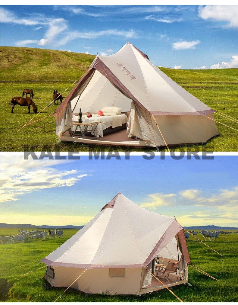 da pessoa 8-10 do yurt da mongólia