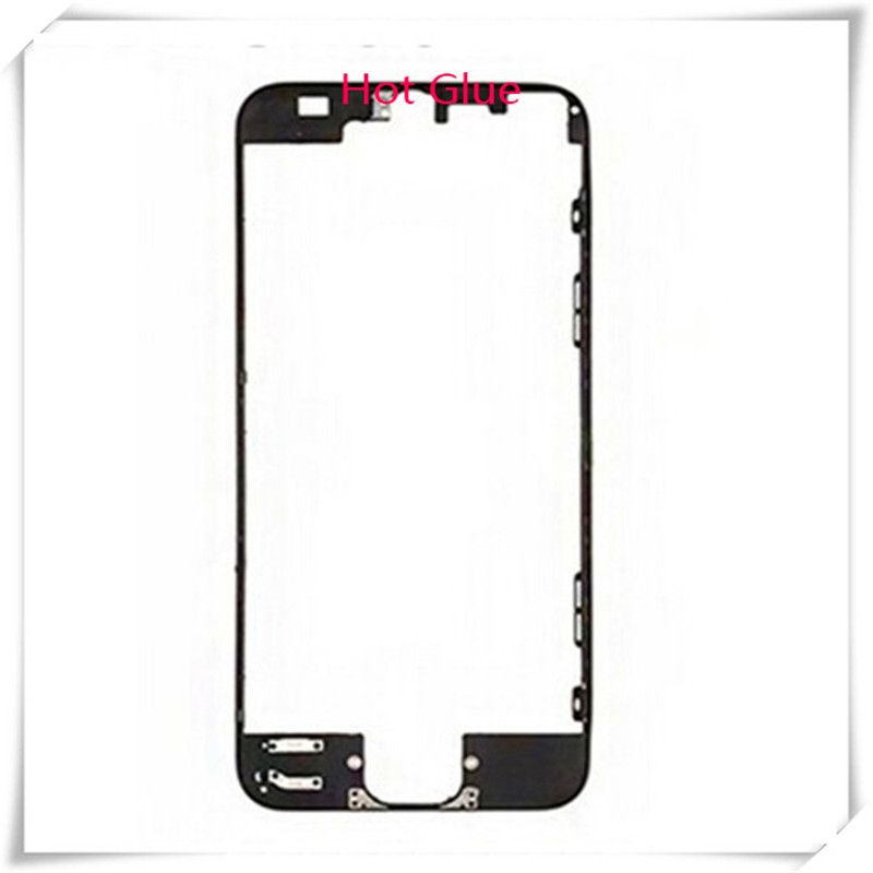 Supporting-Bracket Frame Front-Bezel iPhone 5 Lcd with Hot-Glue for 5G 5S 6/6plus/6s/6sp