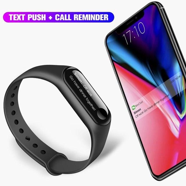 OLED Touch Screen M2/M3 Smart Bracelet Fitness Tracker Heart Rate Sleep Monitoring Pedometer IP67 Waterproof Smart Watch