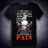 New Naruto T shirt Anime Uzumaki Naruto Hatake Kakashi men t shirt Cotton Summer Short sleeve Tees tops